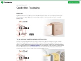 Candle Box Packaging wholesale with cheap prices available in USA