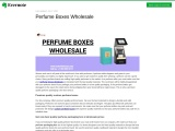 Printed Personalized Branded Perfume boxes wholesale in Texas