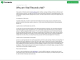 Why are Vital Records vital? – Blog