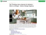 Top Suitable Color Schemes For Kitchens | Decor La Rouge | Interior Design Agency