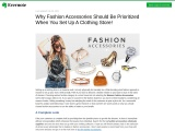 Fancy Accessories Wholesale – How To Place Fashion Items In Your Store!