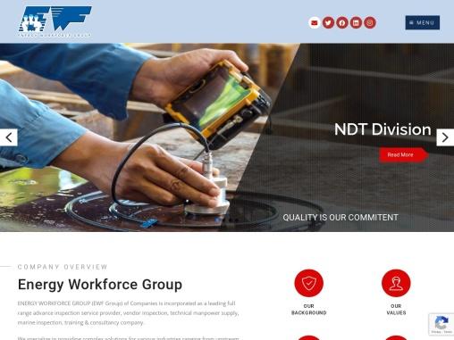 ENERGY WORKFORCE GROUP (EWF Group) of Companies