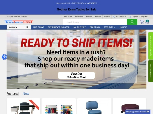 ExamTables Direct – Buy Medical Exam Table & Treatment Tables