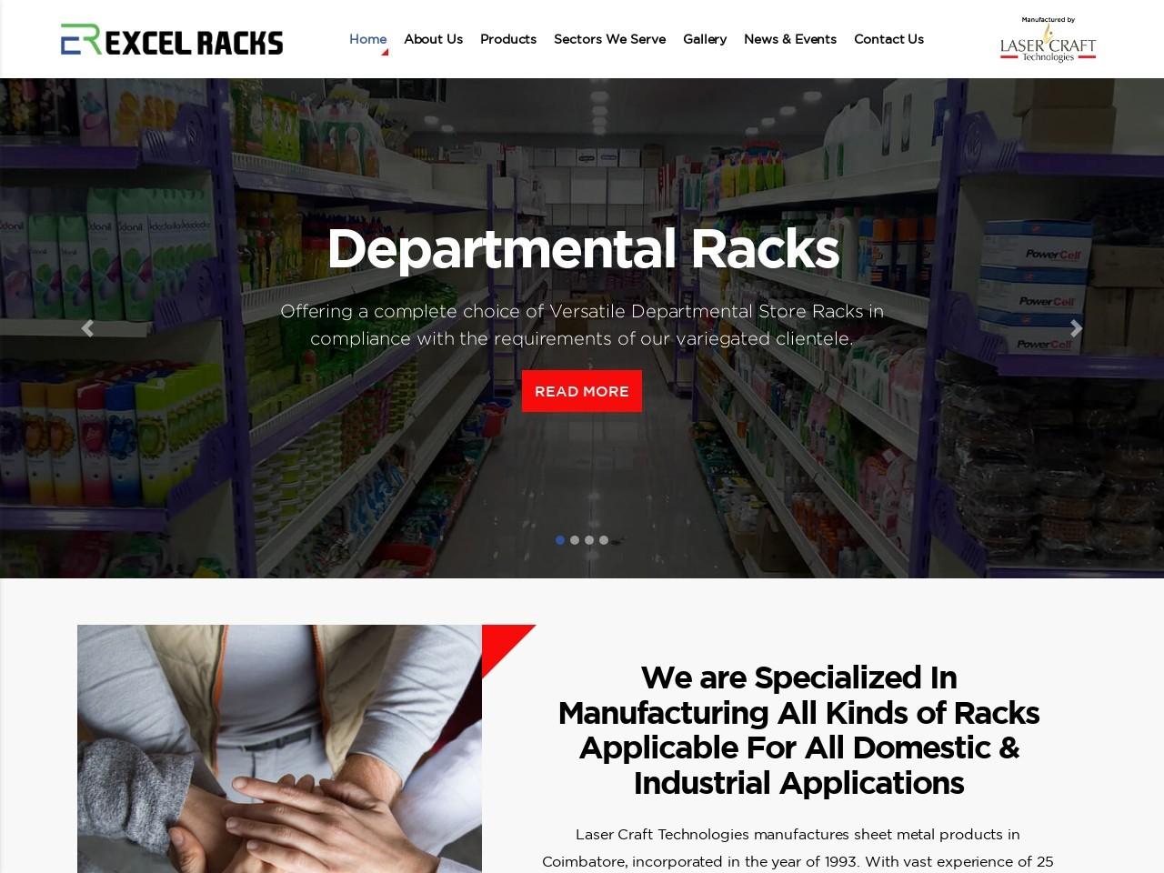 Departmental Store Racks Manufacturer