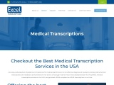Best Medical Transcription Services USA – Excel Transcriptions USA