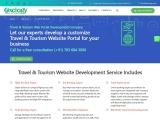 Travel & Tourism Website Design and Development Company