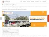 Orange Line Advertising Rates India
