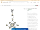 Get Marvelous Faceted Gemstone Sterling Silver Pendant