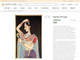 Get Beautiful Nayika Shringar – Watercolor Paintings
