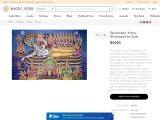 Get Sheshashayi Vishnu Worshipped by Gods Oil on Canvas Paintings