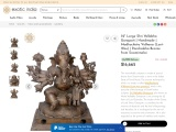 Sri Vallabha Ganapati Panchaloha Bronze Statue from Swamimalai