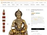 Get Brass Sculptures – Blessing Hanuman