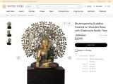 Get Canopy Buddha Upon A High Pedestal