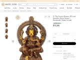 Get The Cosmic Glamour Of Lord Ganesha