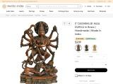 Dashbhujadharini Maa Durga Brass Statue