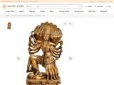 Get Goddess Mahakali – Brass Statues