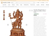 Get Superfine Pashupatinath with Ganesha and Nandi and Base Decorated with Figures