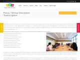 Difference between Focus Group Transcription & Verbatim Transcription