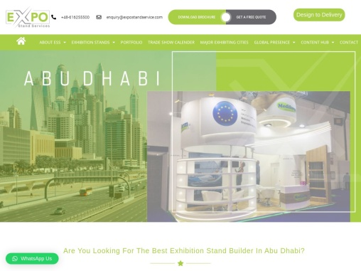Best Exhibition Stand Builder In Abu Dhabi