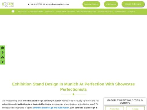 Exhibition Stand builder In Munich