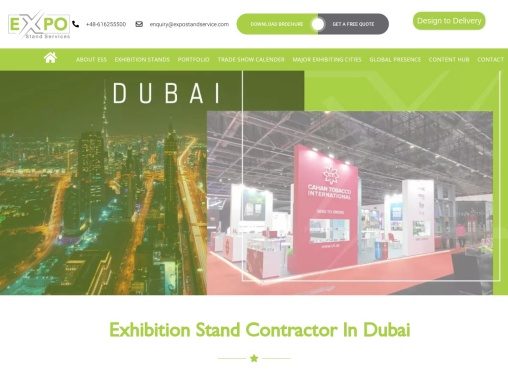 Exhibition Stand Contractor in Dubai