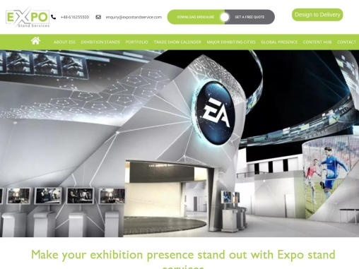 Exhibition Stand Design for your next trade show