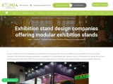 Exhibition stand design companies offering modular exhibition stands
