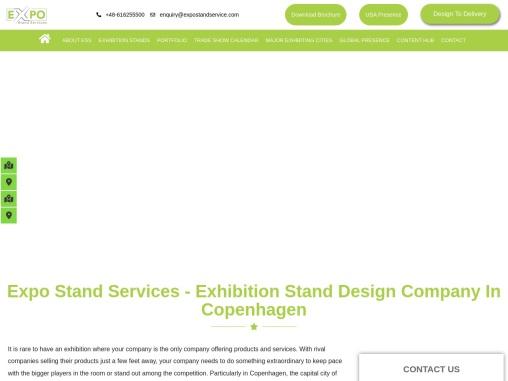 Exhibition stand design Company in Copenhagen