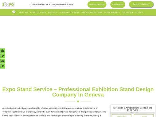 Exhibition Stand Design Company In Geneva