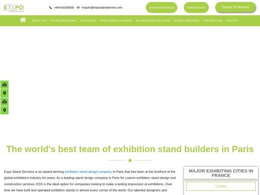 Exhibition Stand Design Company In Paris