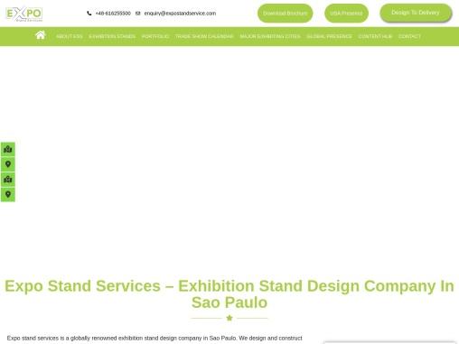 Exhibition stand design Company in Sao Paulo