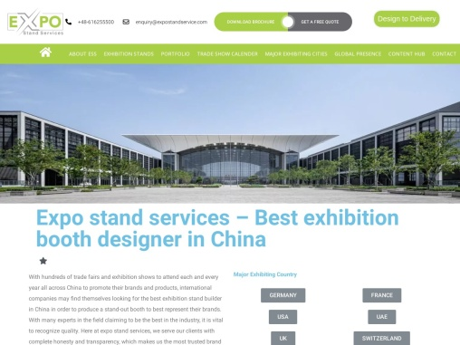 Exhibition Stand Design In China