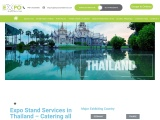 Exhibition stand builder in Thailand