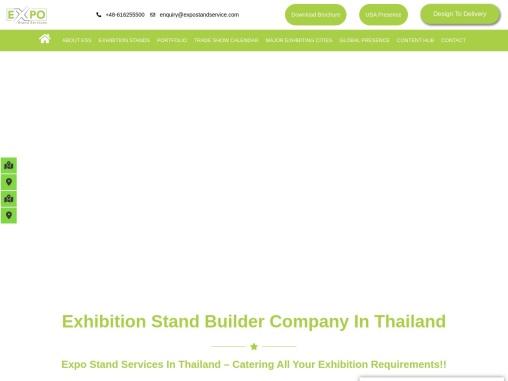 Exhibition stand builder in Thailand