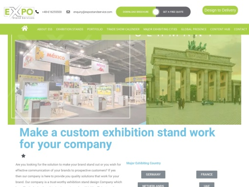 Exhibition Stand Designs In Germany