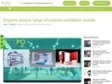 Explore unique range of custom exhibition stands