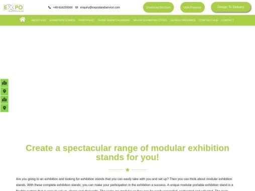 Portable / Modular Exhibition Stand