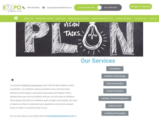 Trade Show Booth Consultation in USA