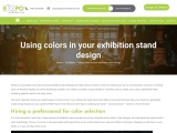 Using colors in your exhibition stand design