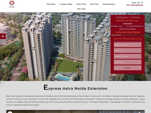 Express Astra in Sector 1 Greater Noida West -Outstanding Residential Project for Buyers!