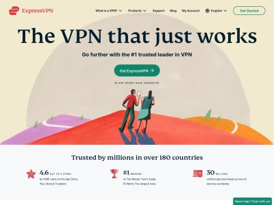 ExpressVPN Web Snap