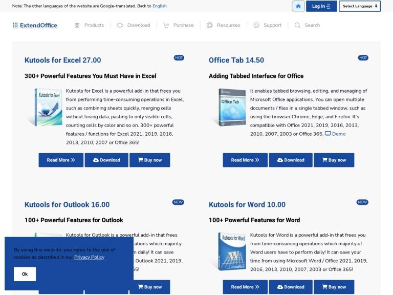 Kutools for Excel Coupons & Discounts May 2021 screenshot