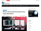 Why is the Dot Net framework the most desirable?