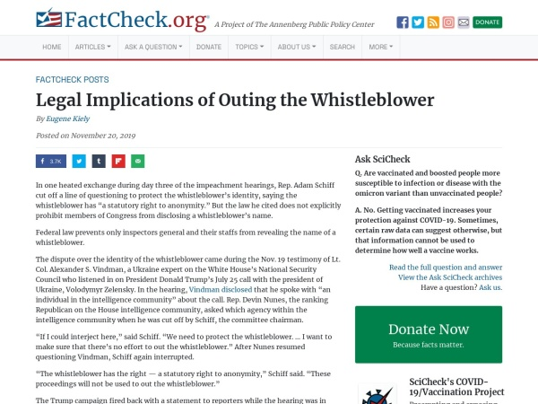 https://www.factcheck.org/2019/11/legal-implications-of-outing-the-whistleblower/