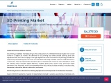 3D Printing Market Will Generate New Opportunities in Upcoming Years 2021-2025