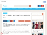 Top 15 Hottest Teenage Actors in the world 2021