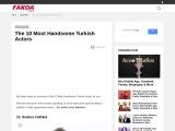 The 10 Most Handsome Turkish Actors