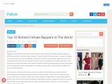 Top 10 Richest Female Rappers In The World