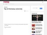 Top 10 Germany university | best Germany university 2021