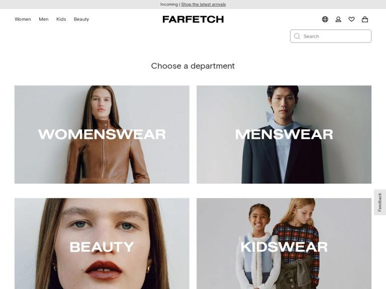 Farfetch Coupon Codes & Promo codes
